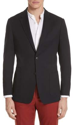 Ermenegildo Zegna TECHMERINO(TM) Wash & Go Classic Fit Wool Blazer