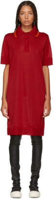MM6 MAISON MARGIELA Red Polo Dress