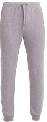 Derek Rose Devon Cotton Track Pants - Mens - Grey