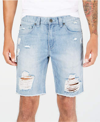 INC International Concepts I.n.c. Men's Ripped Denim Shorts, Created for Macy's