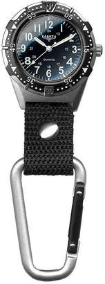 Dakota Men's Lighweight Aluminum Backpacker Clip Watch 28446