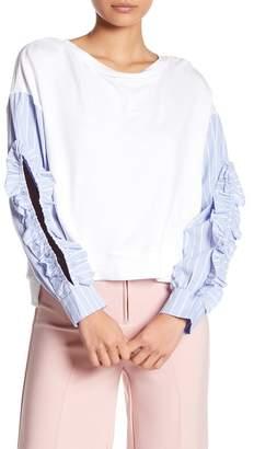 Romeo & Juliet Couture Avant Ruffle Sleeve Tee