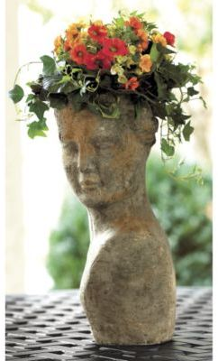 Terra Cotta Lady Planter
