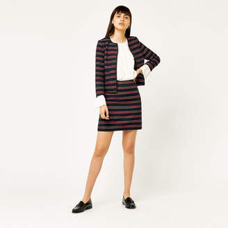 Warehouse Bridget Stripe Skirt