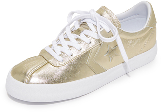 Converse Breakpoint OX Metallic Sneakers $65 thestylecure.com