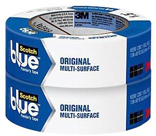 Scotch Blue Painter's Masking Tape for Multi-Surfaces,1-1/2-inches x 60-yards
