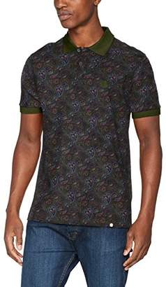Pretty Green Men's Golbourne Paisley Polo Shirt