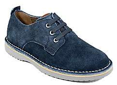 Florsheim Boy's Navigator Plain-Toe Suede Shoes