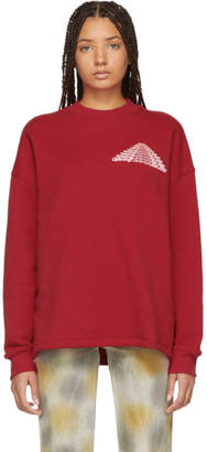 Opening Ceremony Red Unisex Cozy Sweatshirt