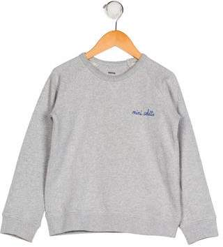 Maison Labiche Boys' Long Sleeve Crew Neck Sweatshirt