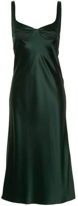 Dion Lee layered satin dress