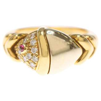 Bulgari Yellow gold ring