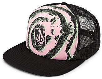 Volcom Junior's Liberate Flat Brim Trucker Hat