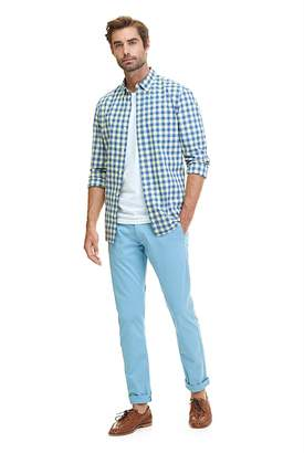 Country Road Slim Gingham Shirt