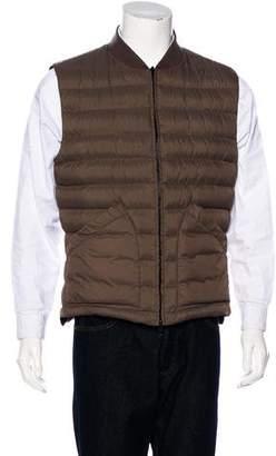 Brunello Cucinelli Reversible Linen & Wool Gilet