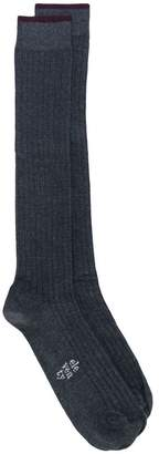 Eleventy long ribbed socks