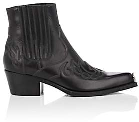 Calvin Klein Women's Cal Calveta Leather Ankle Boots - Black