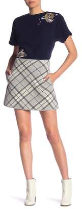 Paul & Joe Sister Minsk Wool Blend Skirt