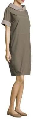 Peserico Cotton Poplin Shift Dress