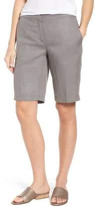 Eileen Fisher Tencel(R) Lyocell & Linen Walking Shorts