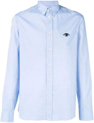 Kenzo Eye embroidered button down shirt