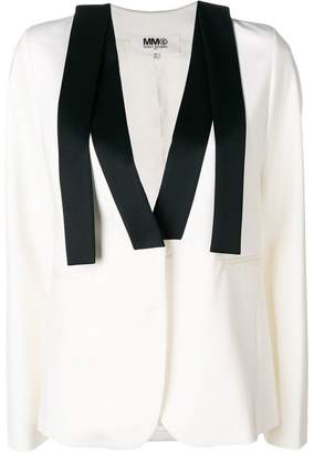 MM6 MAISON MARGIELA loose lapel tuxedo jacket
