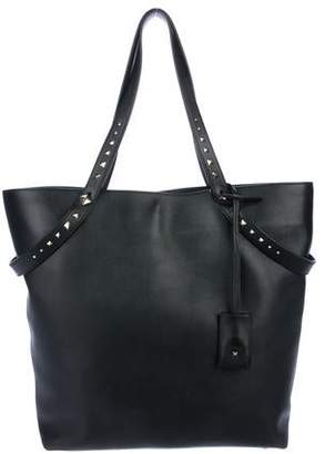 Valentino Smooth Leather Tote