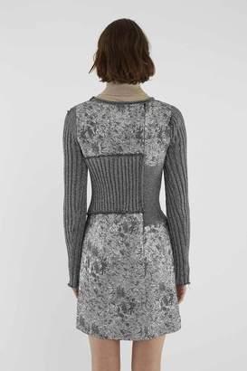 3.1 Phillip Lim Metallic Sweater Dress