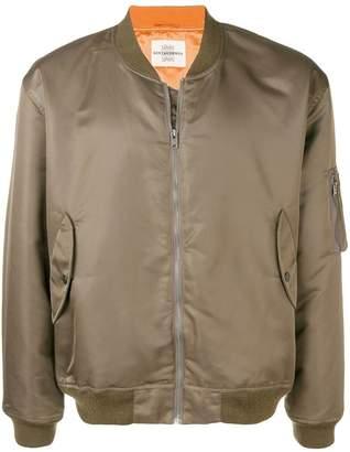 Kent & Curwen boxy bomber jacket