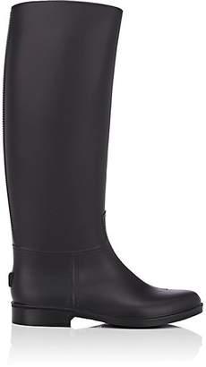 Barneys New York Women's PVC Riding Rain Boots - Black