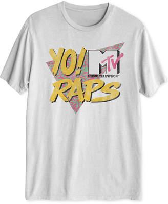 Hybrid Yo! Mtv Raps Men Graphic T-Shirt