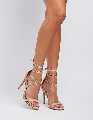 Lace-Up Dress Sandals $30.99 thestylecure.com