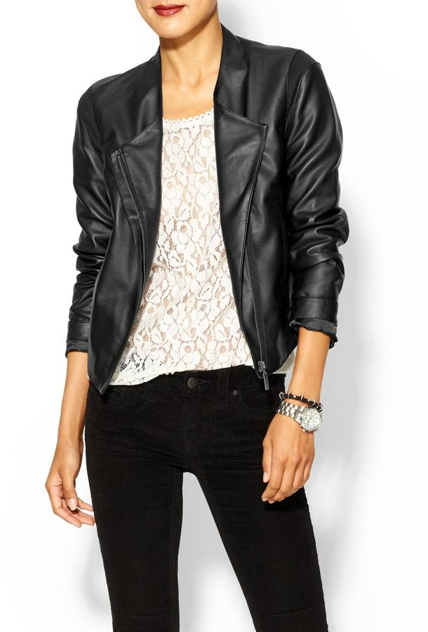 Juicy Couture Tinley Road Easy Vegan Leather Jacket