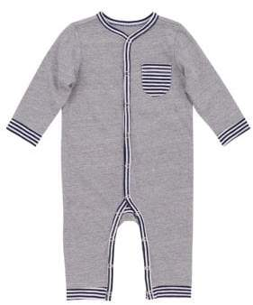 7 For All Mankind Baby Boy's Striped Coveralls