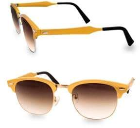 MILO 49MM Clubmaster Sunglasses