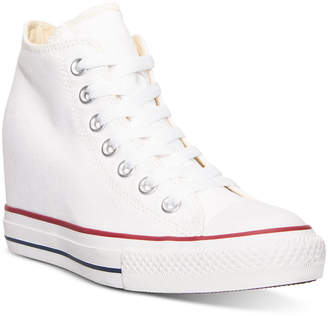 Converse Women's Chuck Taylor Lux Casual Sneakers from Finish Line $64.99 thestylecure.com