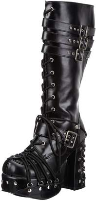 Pleaser USA Demonia by Women's Charade-206 Lace-Up Boot