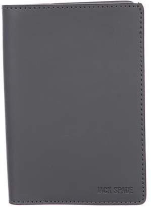 Jack Spade Striped Passport Cover