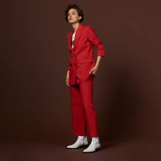 Sandro Polka dot suit jacket