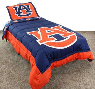 College Covers Auburn Tigers Reversible Comforter Set