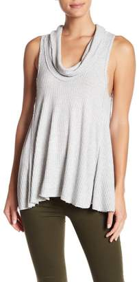 Free People Swing It Cowl Neck Tank