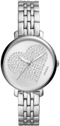 Fossil Women Jacqueline Stainless Steel Bracelet Watch 36mm