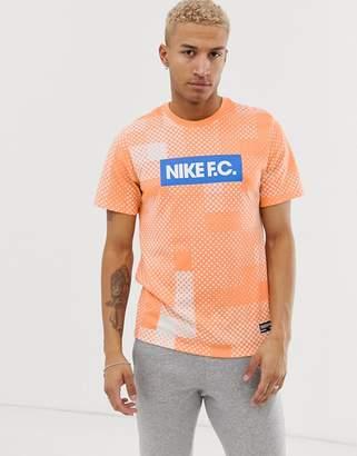 FC branded t-shirt in orange