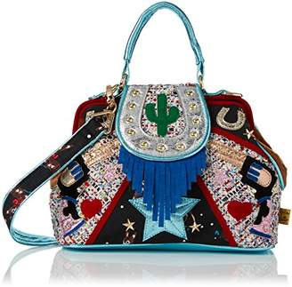 Irregular Choice Womens Ride On Top-Handle Bag