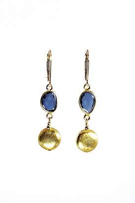 Melinda Lawton Jewelry London Blue Earrings