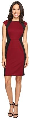 Christin Michaels Savannah Knit Sheath Dress $79 thestylecure.com