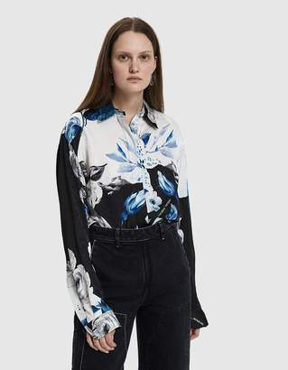 Off-White Off White Floral Basic Shirt