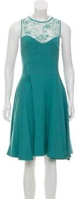 Elie Saab Sleeveless Lace Midi Dress w/ Tags