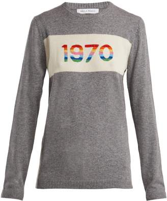 Bella Freud 1970 cashmere-blend sweater