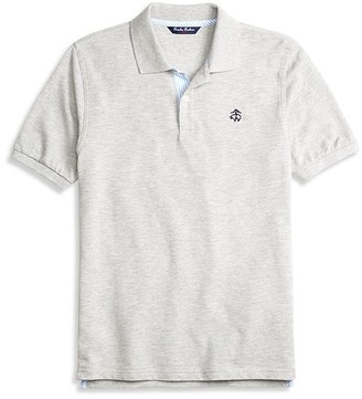 Brooks Brothers Boys' Pique Polo - Little Kid, Big Kid $40 thestylecure.com